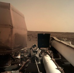 La nave espacial InSight de NASA toma un selfie