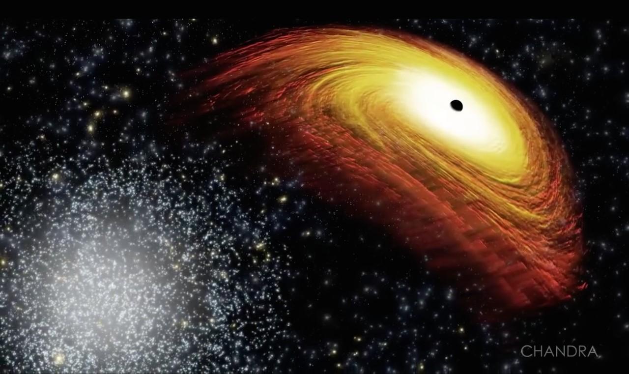 Черная дыра у негра