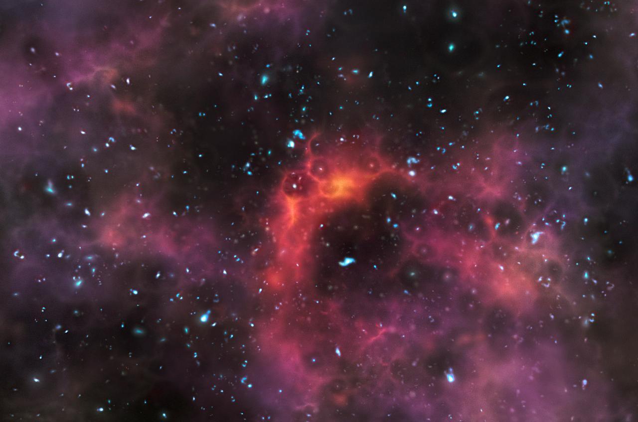 El universo tiene un pasado tenebroso space scoop unawe for Foto galassie hd